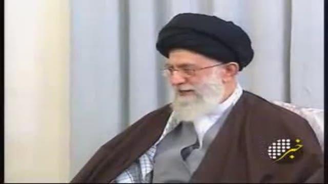 دیدار نمایندگان حماس با مقام معظم رهبری