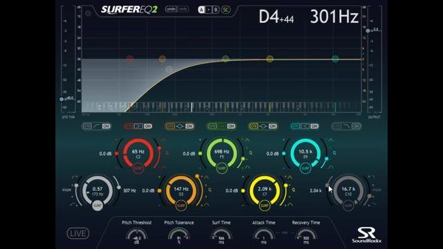 دانلود پلاگین اکولایزر Sound Radix SurferEQ v2.0.2 HAPPY NEW YEAR-R2R