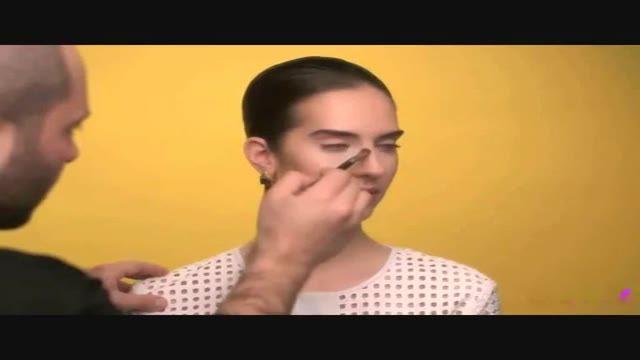 خوش فرم کردن بینی با ترفندهای آرایشی