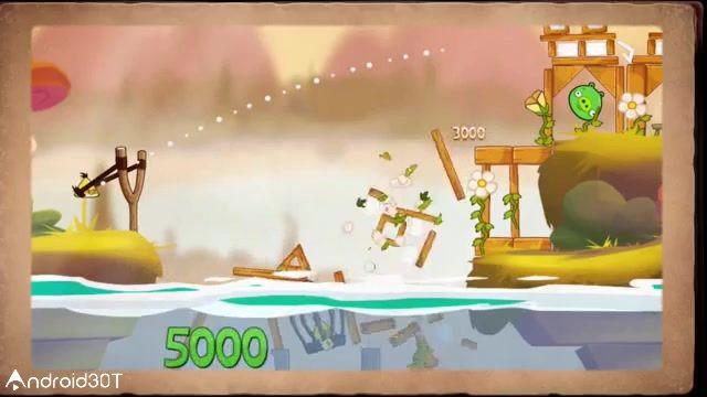 بازی اعتیاد آور پرندگان خشمگین فصل ها – Angry Birds Seasons