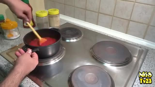 طرز تهیه سس پیتزا - Pizza sauce