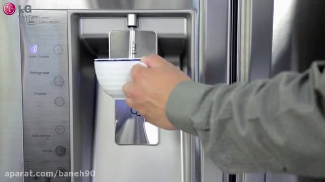 چگونه فیلتر آب یخچال ساید ال جی را تعویض کنیم؟