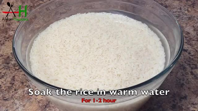 How to cook Afghan Rice (chalau)[طرز و تهیه چلو افغانی]