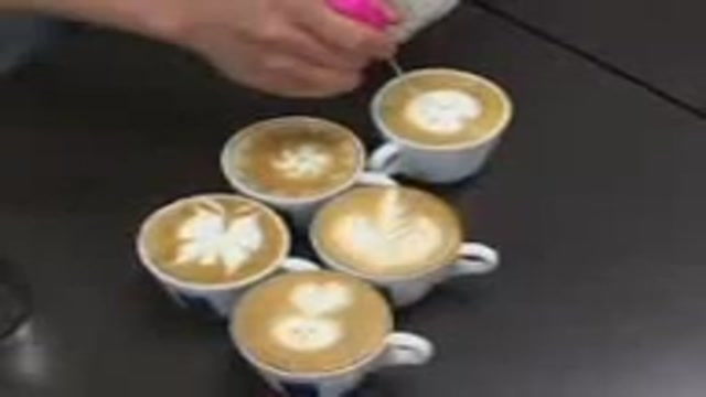 چگونه کافه لاته درست کنیم؟ How to make Kaffelate