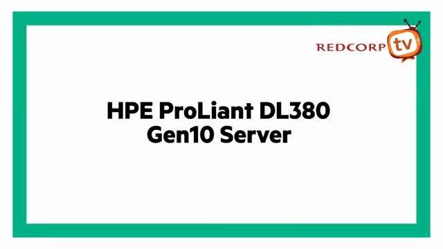 نمایی زیبا از سرور HP DL380 G10