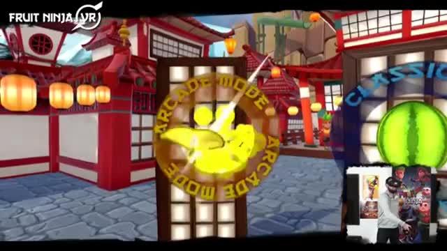 بازی فروت نینجا برای واقعیت مجازی