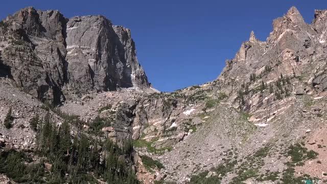 طبیعت زیبای پارک بین المللی کوه های راکی