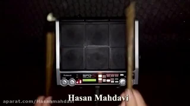 نمونه ریتم پرکاشن Spds آهنگ گروه Boys بیقرار ساخته شده توسط حسن مهدوی