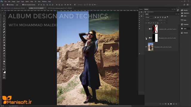 آموزش طراحی البوم دیجیتال و تکنیک های کامپوزیشن در ادیت عکس