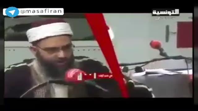 پناه بردن مجری اهل سنت در زلزله ساختگی به اهل بیت!!!