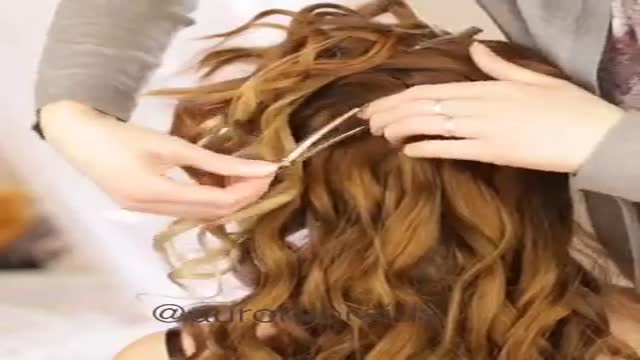 مو درست کردن. ساده