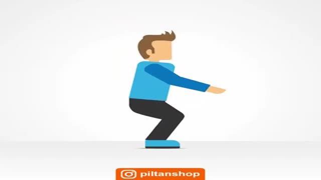 حرکات ساده برای تقویت عضلات زانو و چهار سر ران