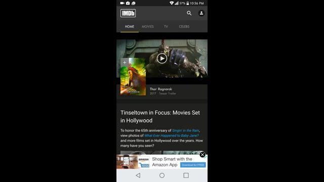 معرفی بهترین برنامه موبایل برای اطلاعات فیلم
