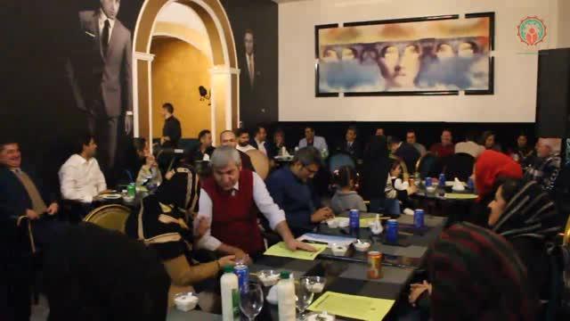 شب یلدا با اعضای خانواده بزرگ مدیران ایران - سال 96