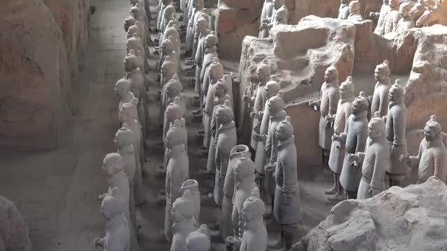 معرفی سربازهای سفالین در شهر شیآن چین