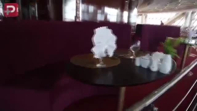 Restorane soper lakcheri tehran :Patoghe Dr Mohammad Javade Zarif - رستوران گردون برج میلاد
