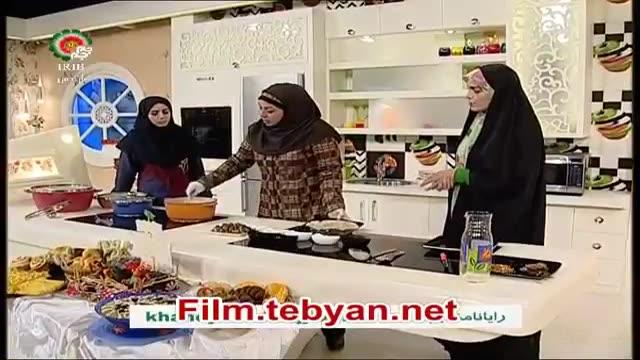 Amozesh ash bademjan پخت و تهیه آش بادمجان