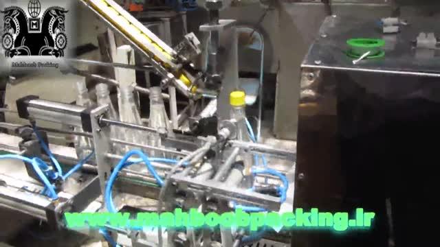 دستگاه پرکن مایعات اتوماتیک- پرکن مایعات غلیظ