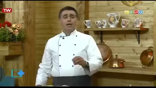 آموزش آشپزی آسان- کباب چوبی