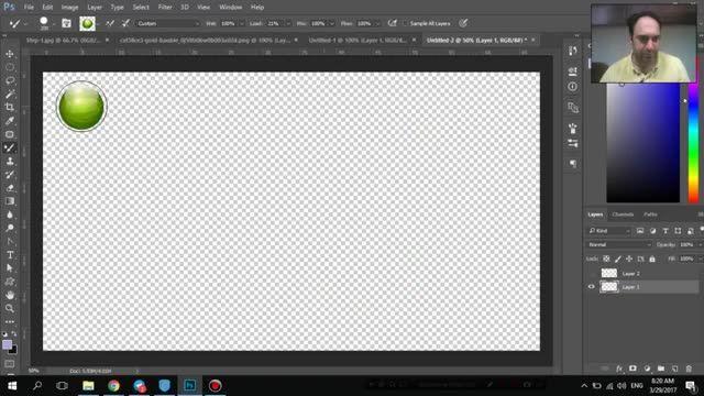 آموزش Photoshop پیشرفته - mixer Brush photo - سعید طوفانی