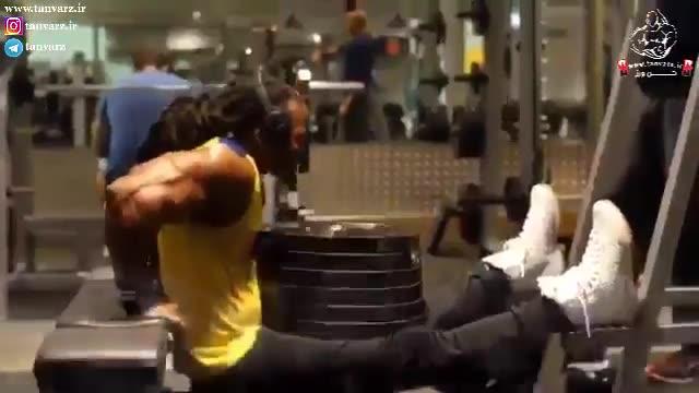تقویت عضلات سهسر بازو یا پشت بازو