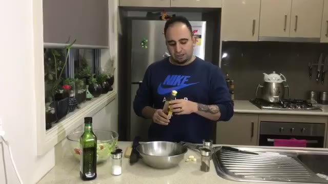 Pomegranate sauce (Persian cooking course)سس انار