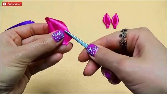گل کانزشی DIY، آموزش گل لوتوس کانزشی