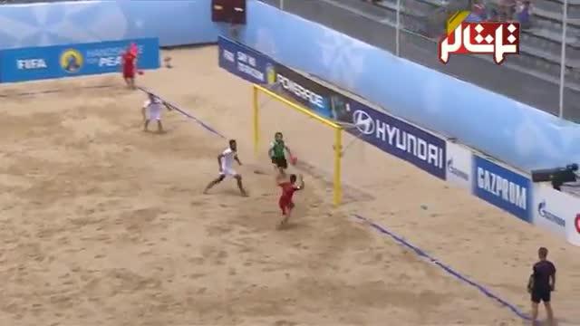 تماشاگر //   خلاصه فوتبال ساحلی : ایران 6 - 5 اسپانیا