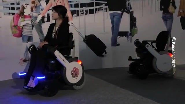 آزمایش ویلچیرهای خودران در ژاپن برای برگزاری المپیک 2020 توکیو