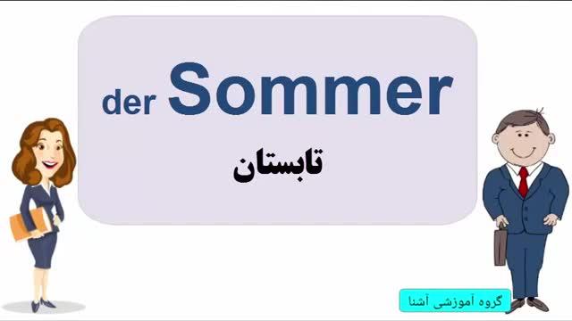 آموزش آلمانی | آموزش زبان آلمانی یادگیری لغات 20 | Amozesh almani