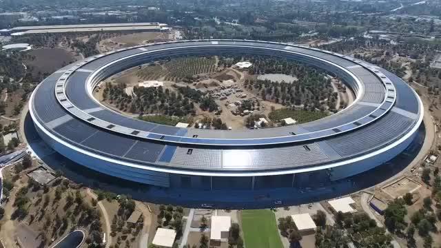 بزرگترین ساختمان اداری در دنیا - ساختمان اپل