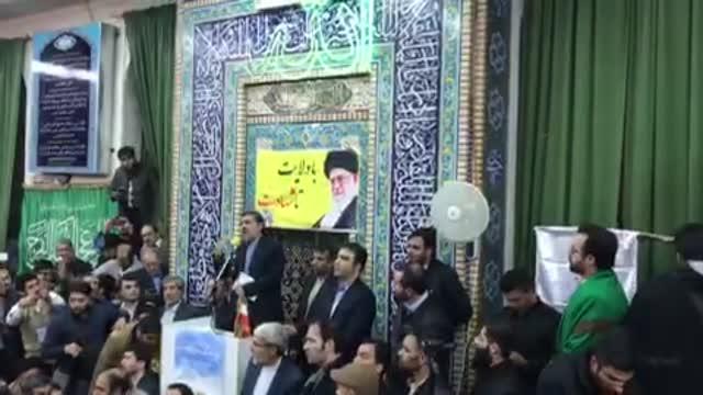 ابراز احساسات شدید مردم به دکتر در سفر دکتر احمدی نژاد به مشهد ( آذر  96 )