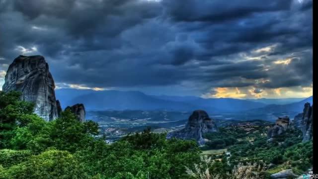 مناظر طبیعی دنیا از از جنگلی سبز تا کوهستانی سفید پوش