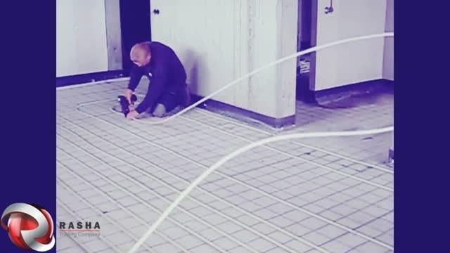 کاربرد دستگاه آرماتور بند اتوماتیک در سیستم های گرمایش از کف
