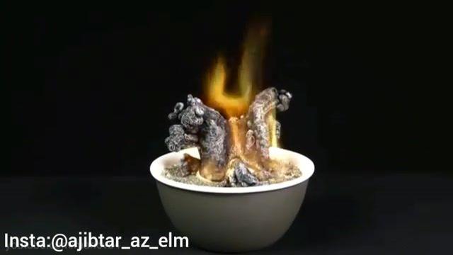 بخش اول روش تهیه مار آتشین