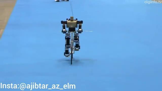 ربات انسان نمای دوچرخه سوار