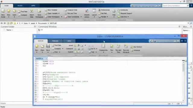پروژه سنجش مشارکتی PFA با نویز AWGN – محاسبه ROC با MATLAB