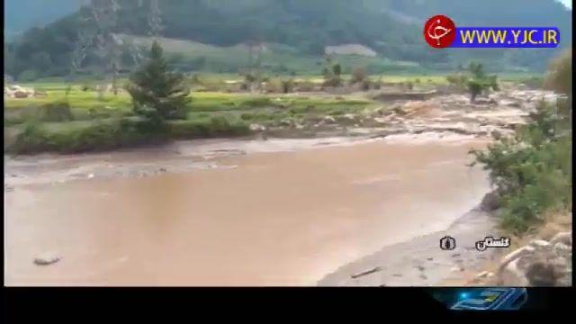 بارش سیل آسای تابستانی در شمال کشور