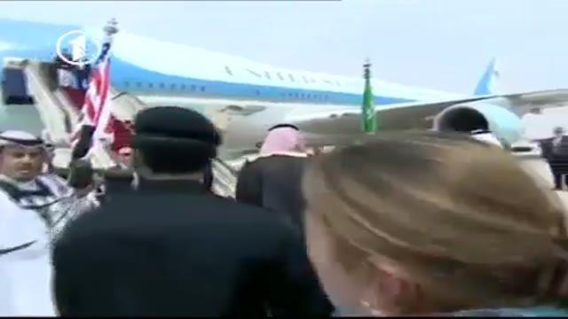 سفر همسر و دختر دونالد ترامپ دل شیخ های عرب را ربود