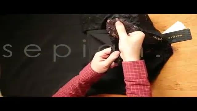 خرید اینترنتی لباس مجلسی ماکسی مشکی