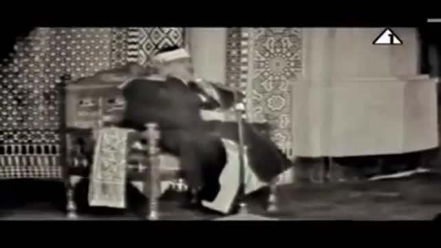 قدیمی ترین فیلم تصویری استاد عبدالباسط 1965 میلادی