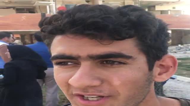 گفتگو با یکی از ساکنان مسکن مهر : 576 واحد فقط دو کشته داد