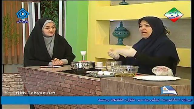 طرز تهیه شیرینی بامیه توسط سرکار خانم حسنی ( آموزش به زبان آذری)
