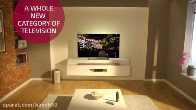 تلویزیون منحنی LG سری EG910