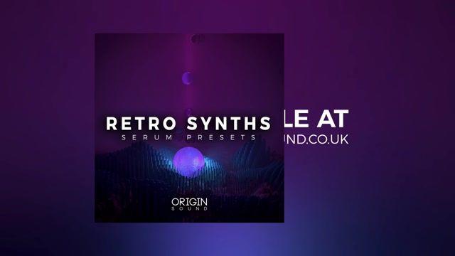 دانلود پریست های Origin Sound Retro Synths For XFER RECORDS SERUM