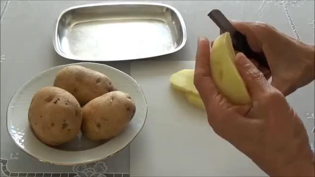 سیب زمینی سرخ کرده ترد Crunchy French Fries   Sibzamini Sorkhkarde Tord