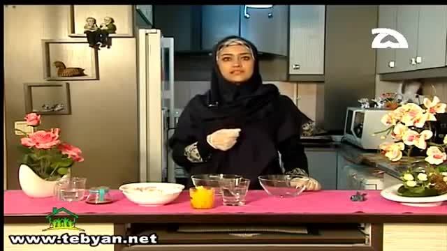 حلوای ماکروفری - طرز تهیه حلوا با مایکروویو (خانم شیخی)