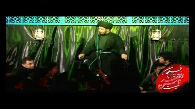حجتالاسلام سید وحید علیزاده ابهت اهل بیت علیهم السلام و امیر المومنین علیه السل