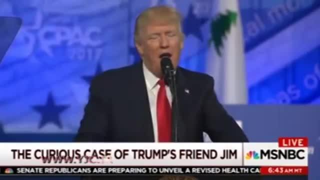 جیم، دوست و مشاور مخفی دونالد ترامپ!