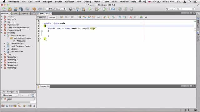2- ساختن اولین پروژه جاوا Java